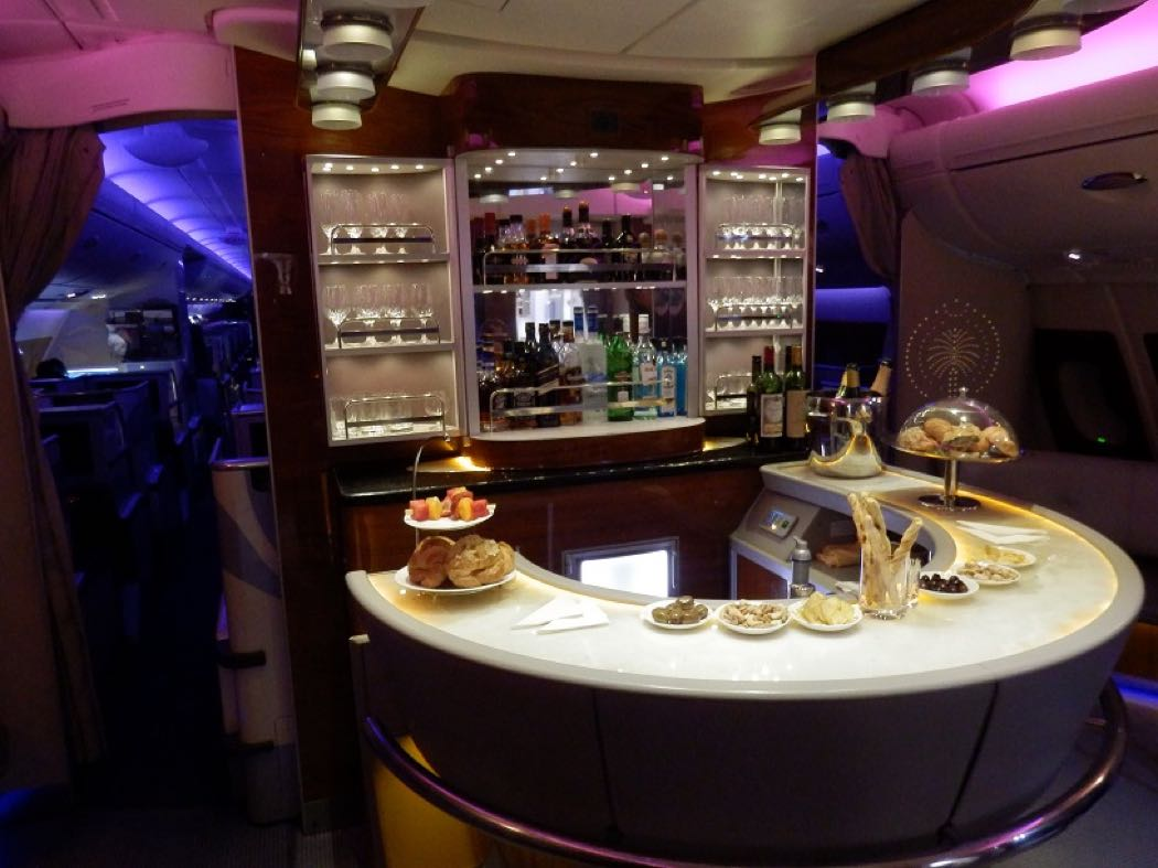 Emirates Airbus A380 Business Class Review Brisbane to Dubai