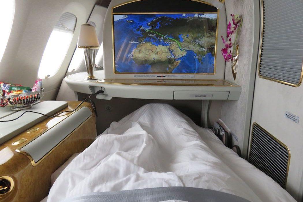 First ClassAusstattung  Kabinenausstattung  Emirates