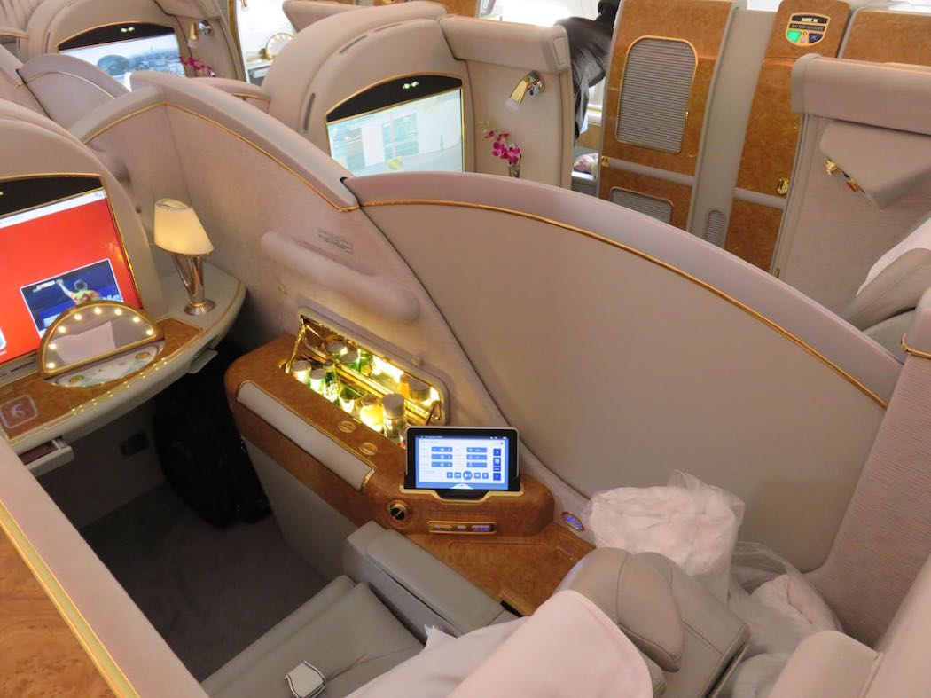 Emirates Airbus A380 First Class Flight Review