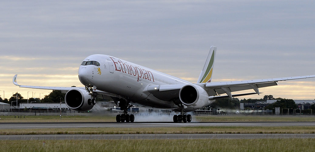 Ethiopian Airlines Launches Africa's First Airbus A350