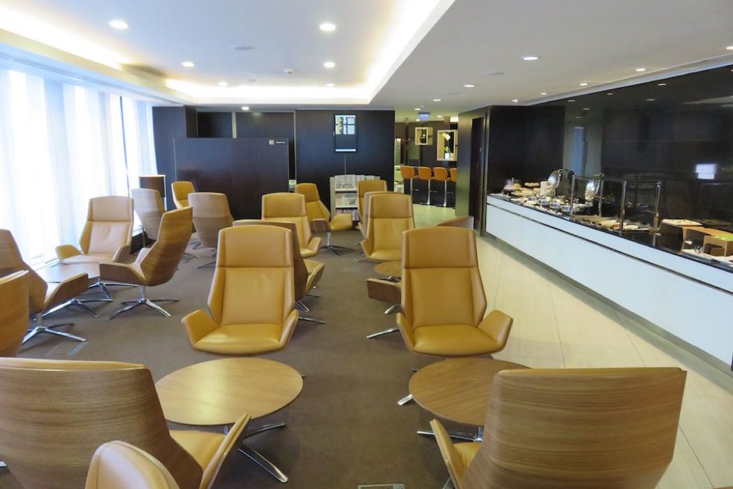Etihad Airways First & Business Airport Lounge Review at Heathrow