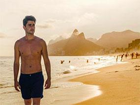 A Pair of Boto Swimwear Designer Mens Swim Shorts RRP$79