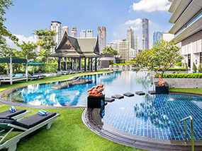 1 night in a Suite at Plaza Athénée Bangkok in Thailand