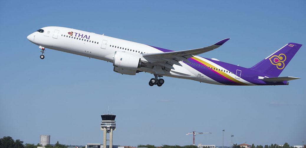 Thai Airways A350-900 Business Class Flight Review