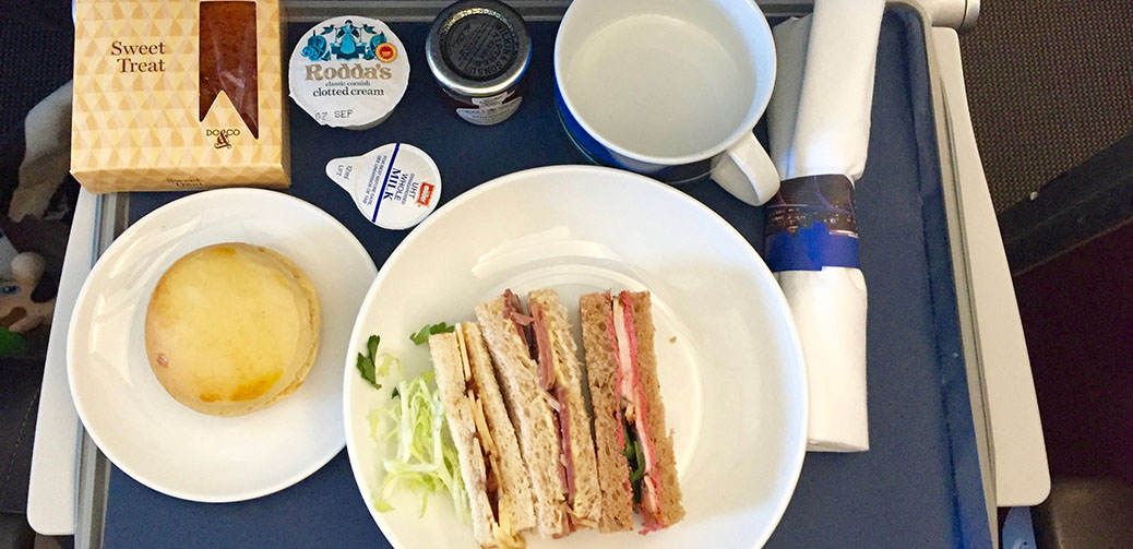 British Airways Club Europe Afternoon Tea