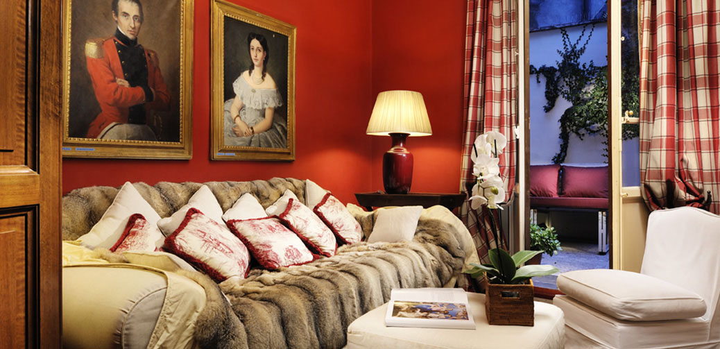 Bed breakfast in luxury in florence rome hotels for How to buy a bed and breakfast