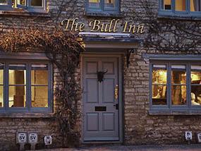 1 night at The Bull Inn, Charlbury, Oxfordshire