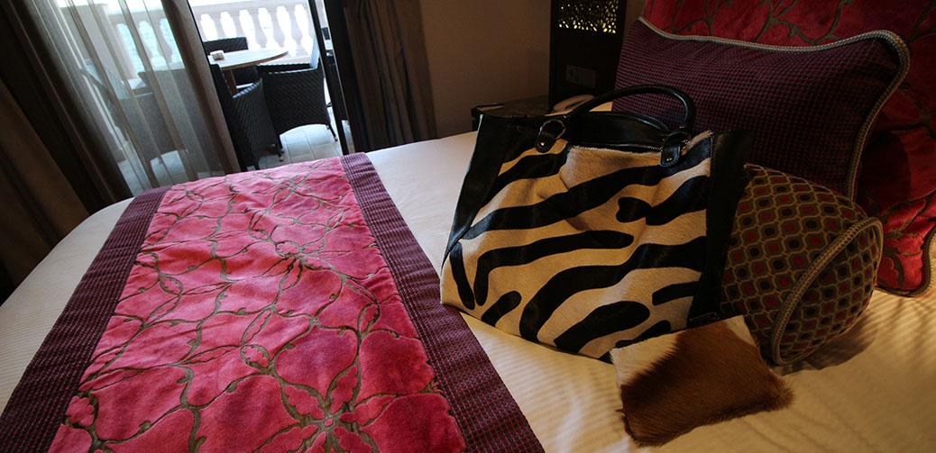 Ostrich 2 Love Furry Handbags