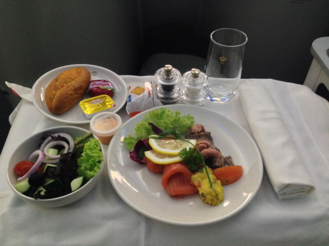 Royal Jordanian 787 Business Class Review
