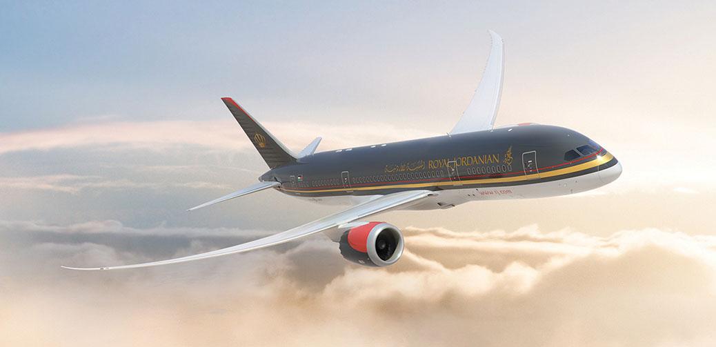 Royal Jordanian 787 Business Class Review