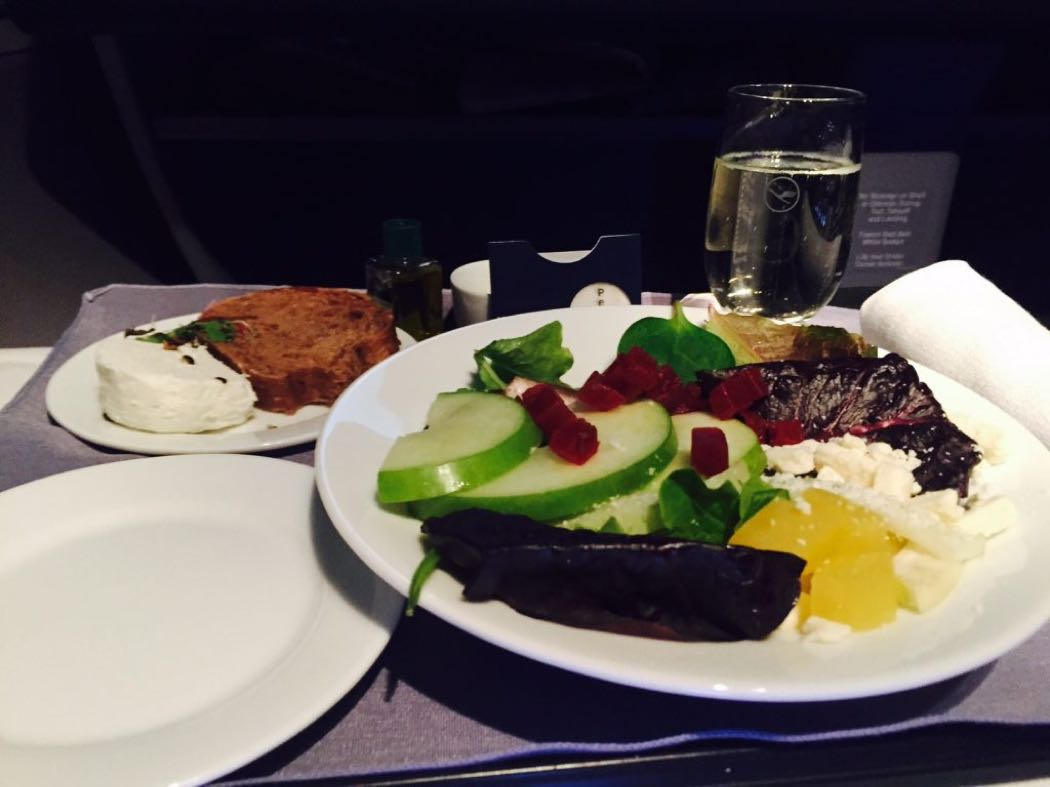 United P.S. B757-200 Business Class Review EWR-LAX
