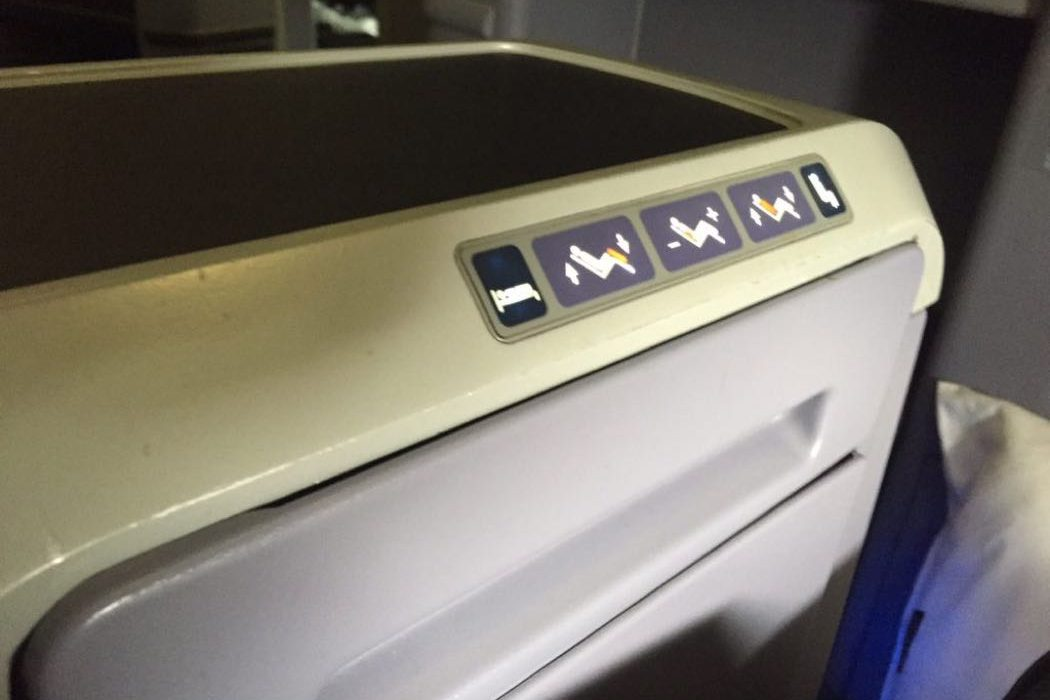 United P.S. B757-200 Business Class Review EWR-LAX ...