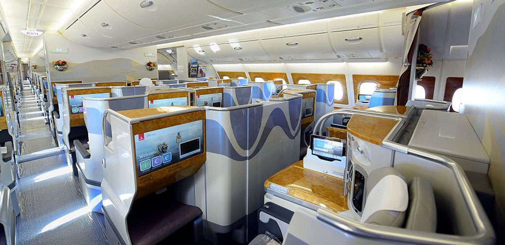 Emirates Reveals New Configuration Of A380