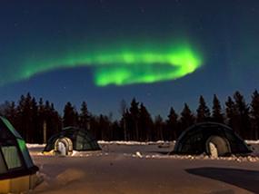 3 nights at the magical Kakslauttanen Arctic Resort, Lapland