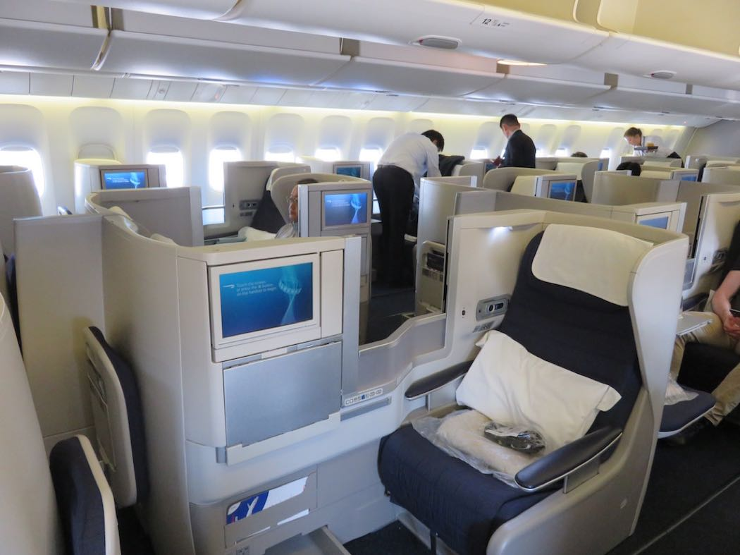 Review: British Airways B777-200 Business Class – Transport