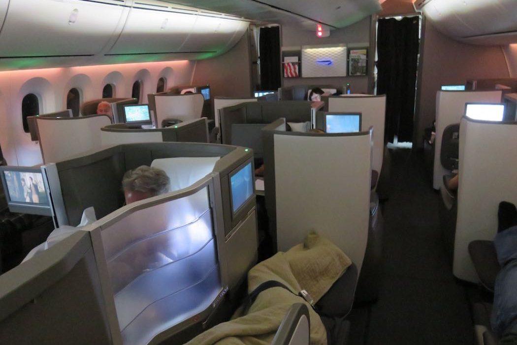 Review British Airways B787 Business Class Calgary to London