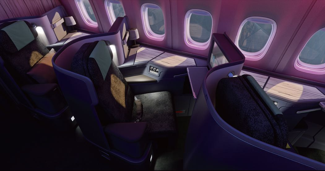 Review: China Airlines B777-300ER Business Class
