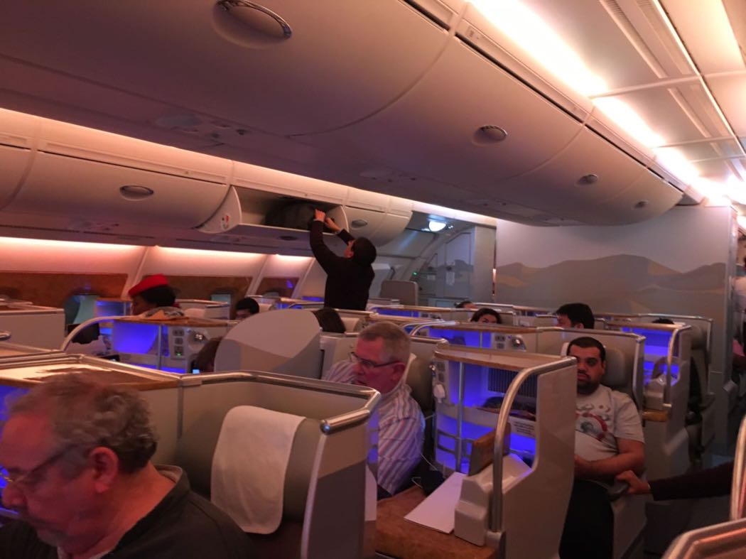 Review: Emirates A380 Business Class LHR to Dubai