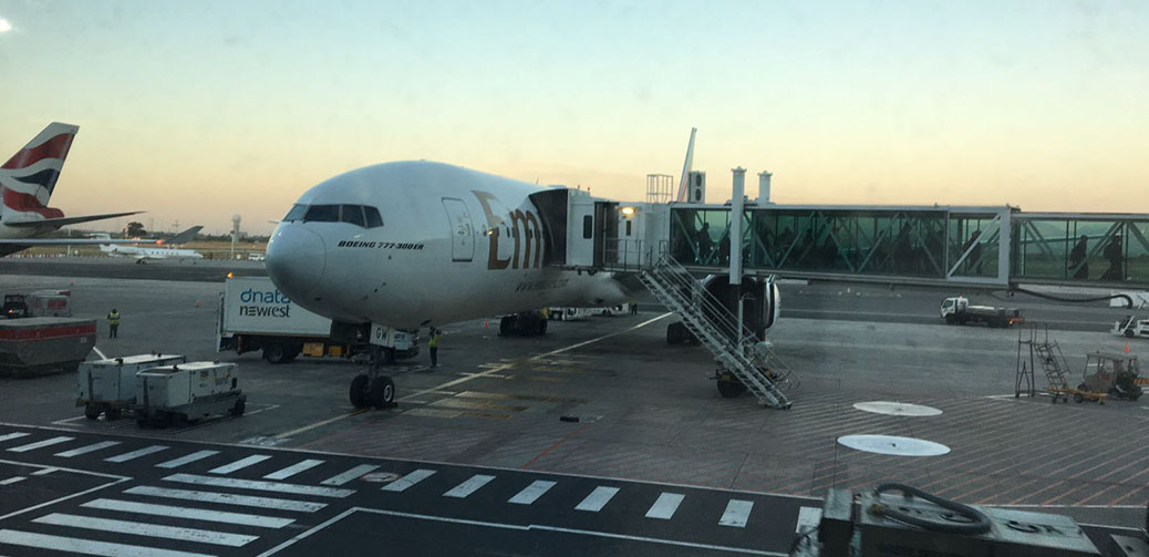 Review: Emirates B777-300 Business Class Dubai to Cape Town
