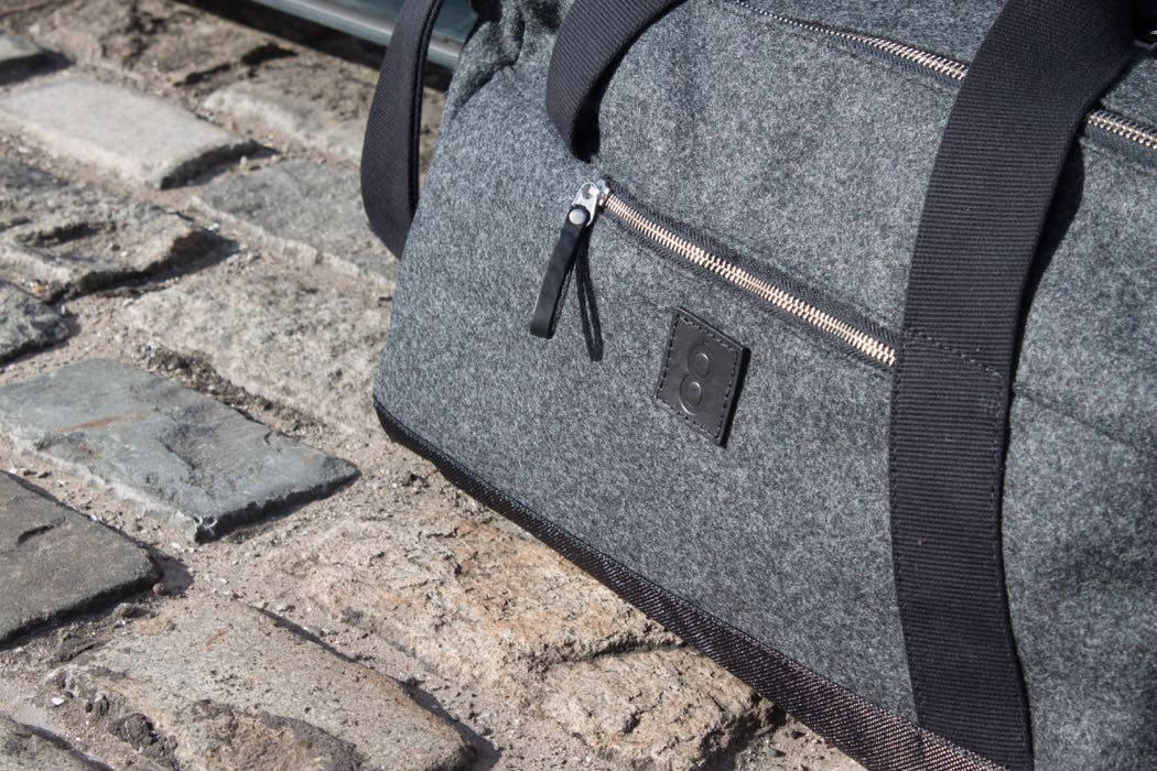 My Christmas List: Both Barrels Luggage Made From Yorkshire Wool