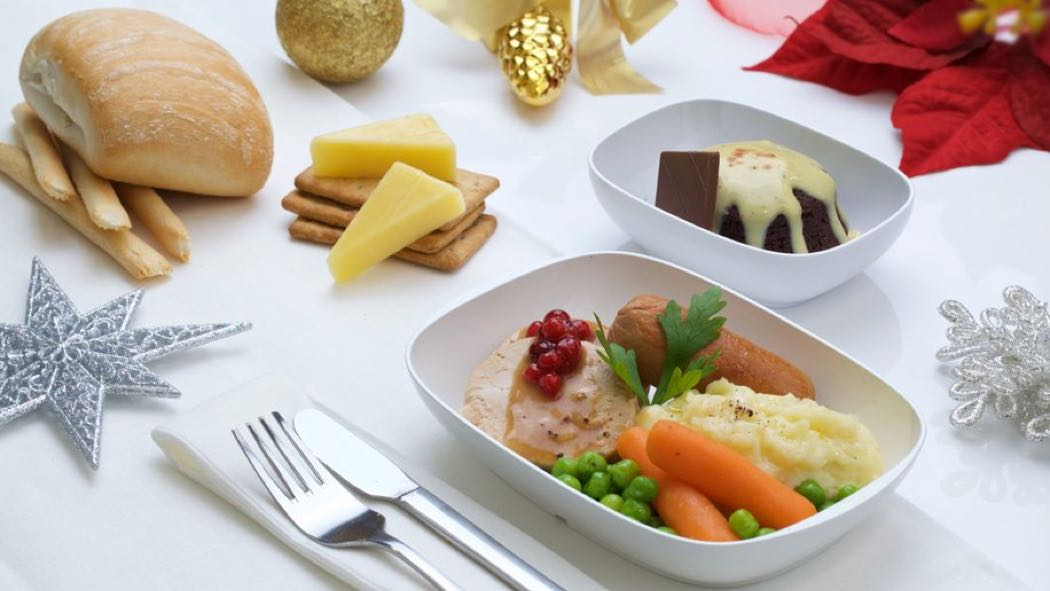 Pictures Of Emirates Christmas Food Menu