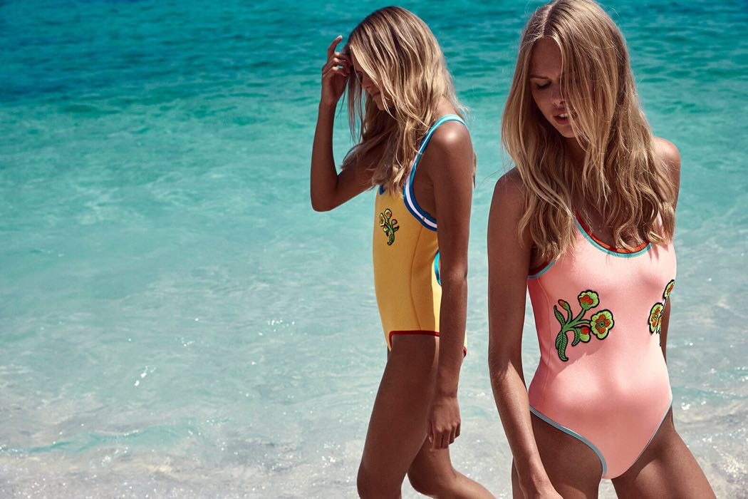 Triangl One Piece Swimsuits