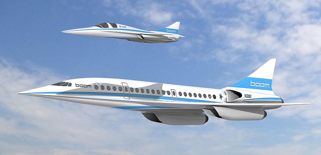 Boom To Start Transatlantic Supersonic Airplane Construction