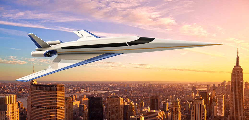 Prototype Of Spike Supersonic Jet To Launch Summer 2017