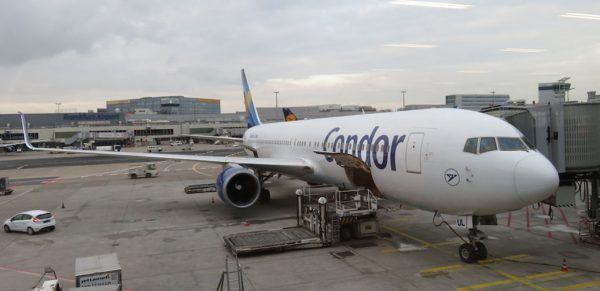 Review: Condor B767-300ER Business Class Frankfurt to Seychelles
