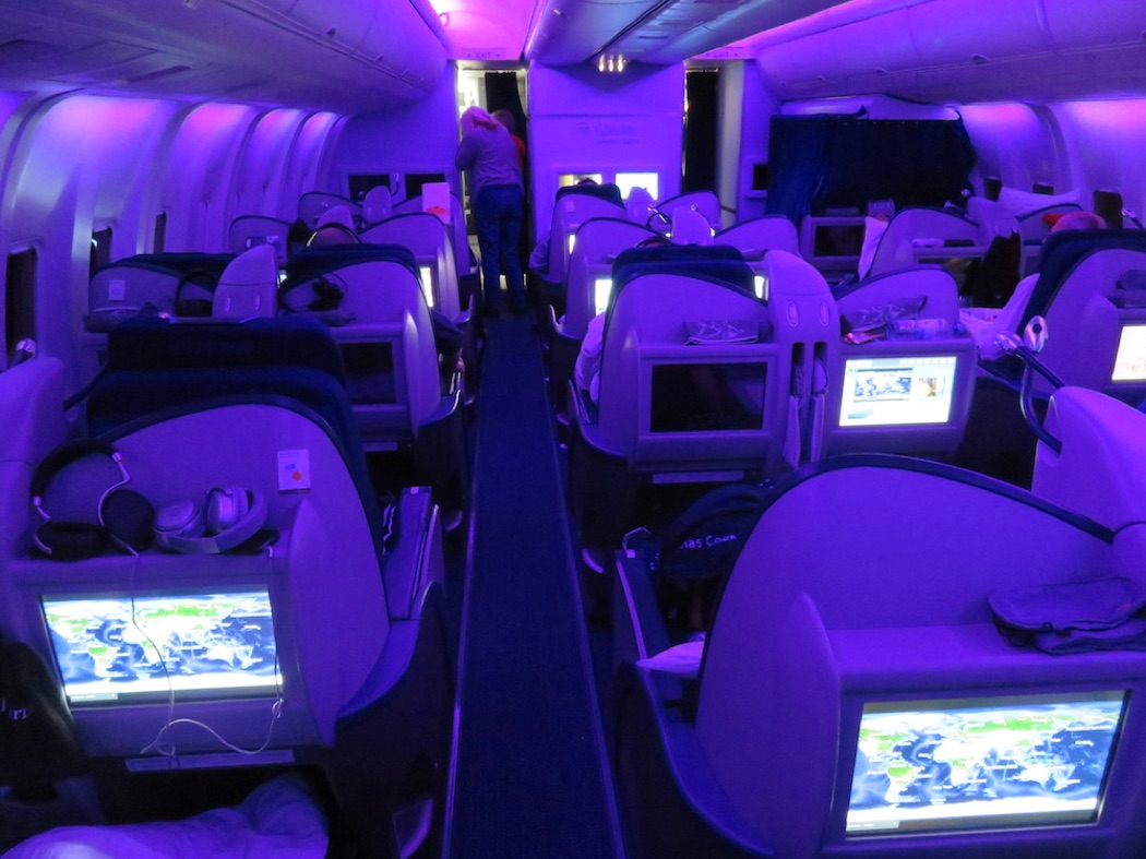 Review: Condor B767-300ER Business Class Frankfurt to Seychelles
