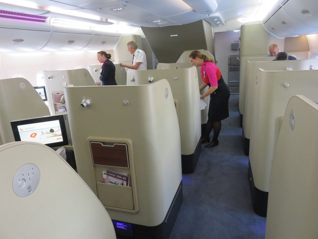 Review: Qantas A380 First Class, Dubai to London