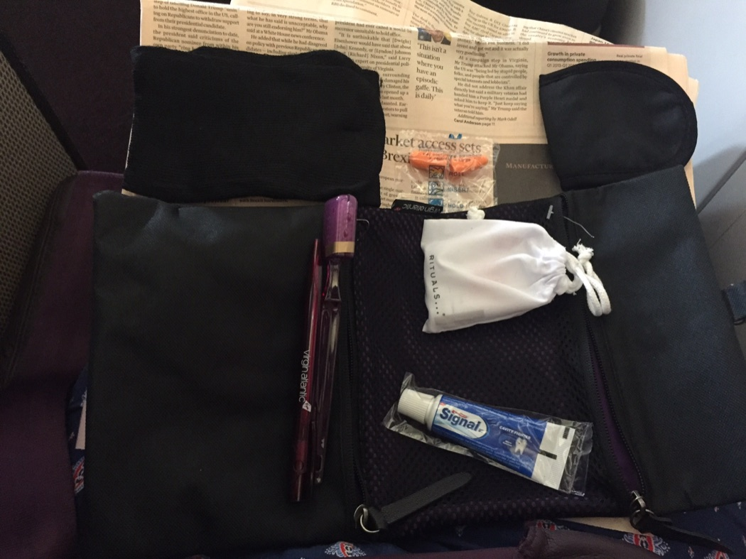 Review: Virgin Atlantic Upper Class London To San Francisco