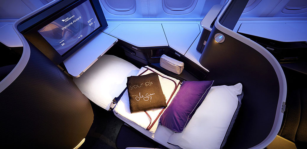 "Review: Virgin Australia ""The Business"" Best Business Class Cabin"