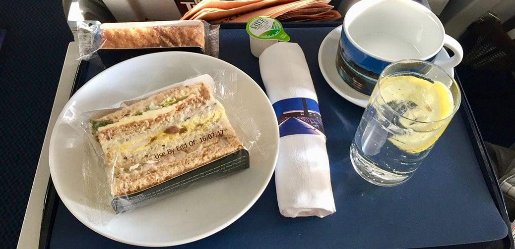 Disgraceful Afternoon Tea On My Last Club Europe Flight