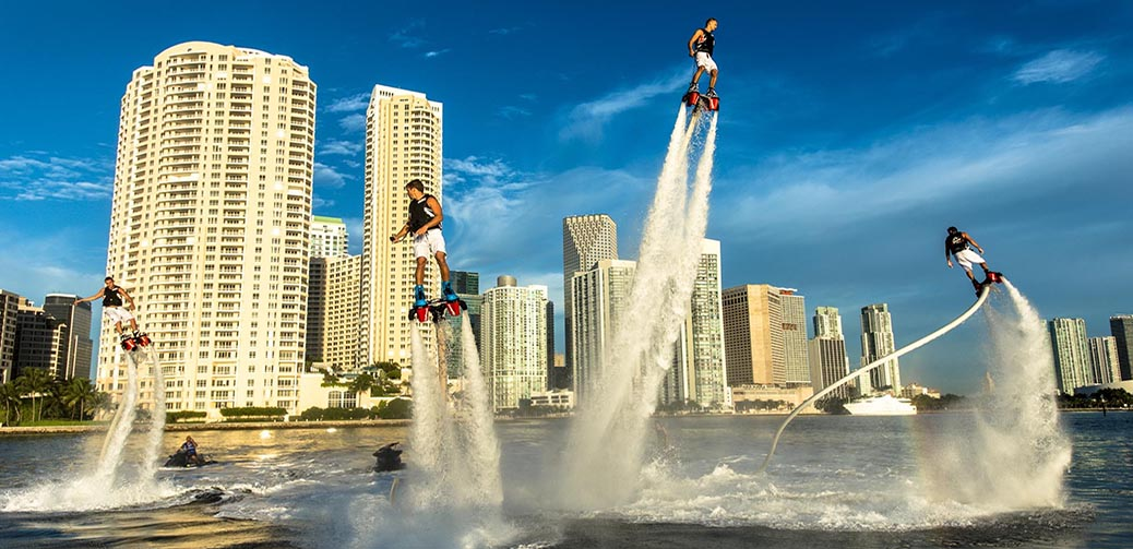 Learn to fly with Miami Beach FlyBoard