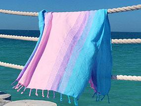 Koala Sherbet Shores Sunrise Handloomed Beach Towel RRP £31