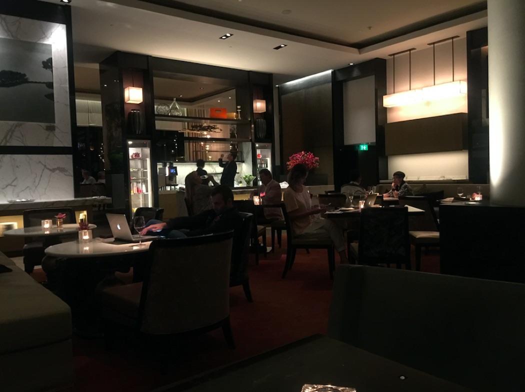 Review: Grand Hyatt Hong Kong Grand Club Lounge