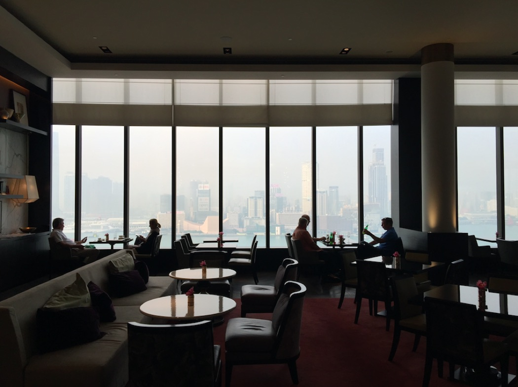 Review: Grand Hyatt Hong Kong Grand Club Lounge