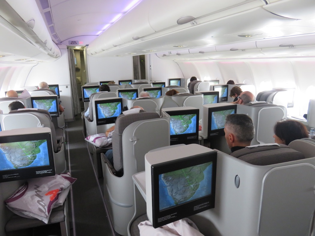 Review: Iberia A330 Business Class Madrid to Johannesburg