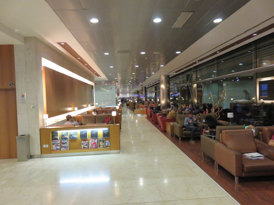 Review: Iberia VIP Velazquez Business Lounge At Madrid Airport