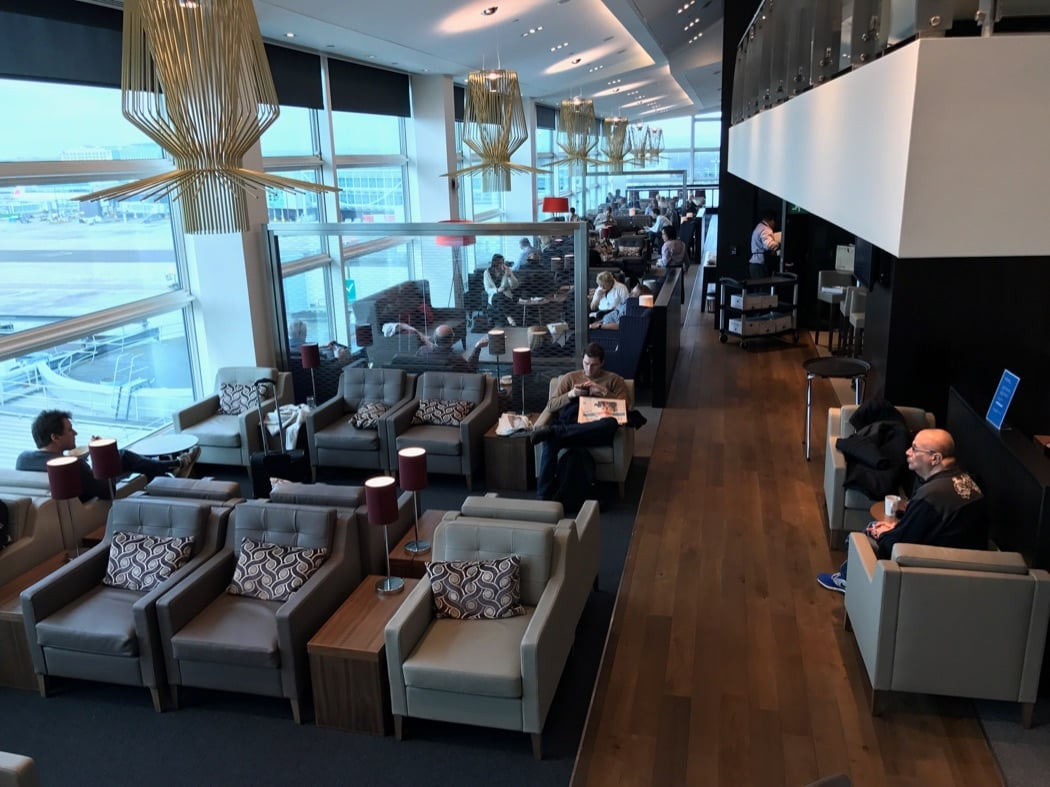 Review & Pictures Of Gatwick South British Airways Business Lounge