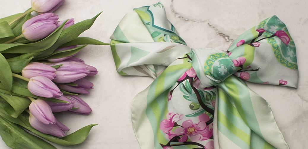 Take Inspiration From A L.E.A.F Scarf
