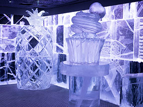 2-Course Meal, Cocktail & Champagne at ICEBAR LONDON, UK