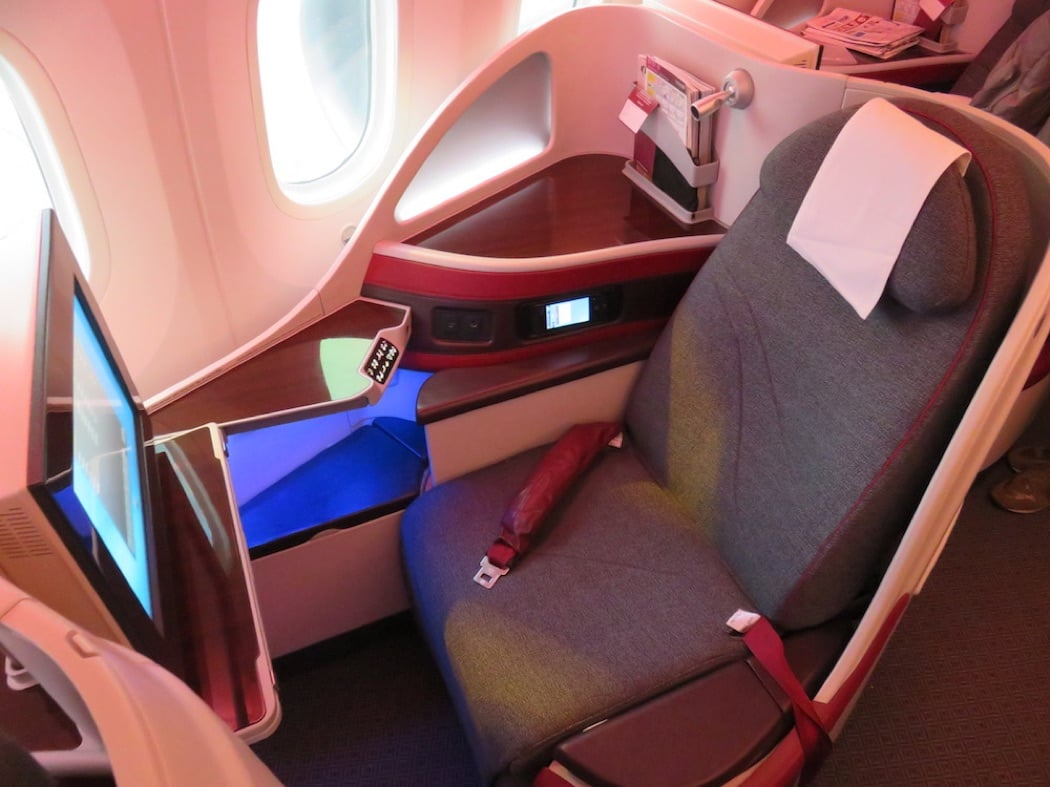 Flight Review: Qatar Airways Boeing B787 Dreamliner Business Class