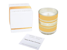 Henry Aston Beautifully Scented Candle RRP £24.95