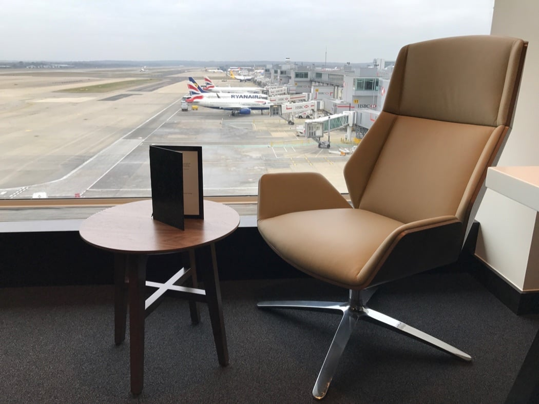 Review: British Airways Gatwick South First Class Lounge