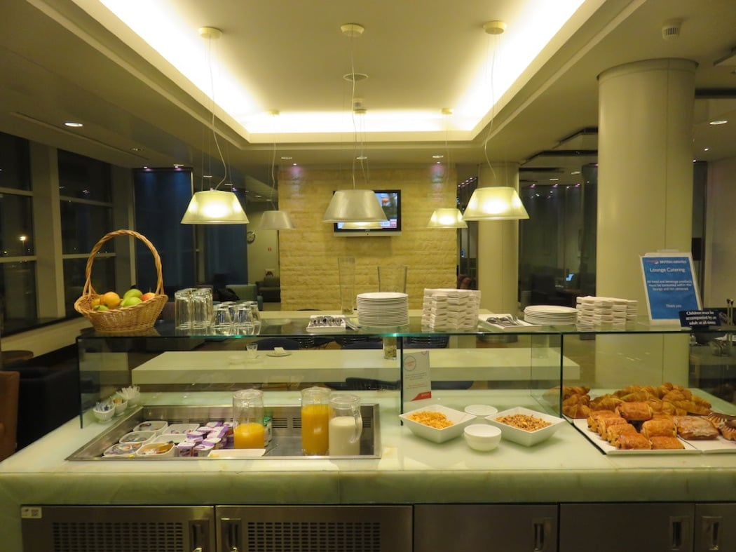 Review: British Airways Oneworld Lounge Brussels Airport