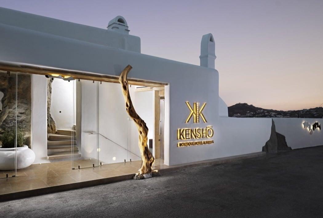 Review kensho boutique hotel suites mykonos hotels for Design boutique hotel mykonos