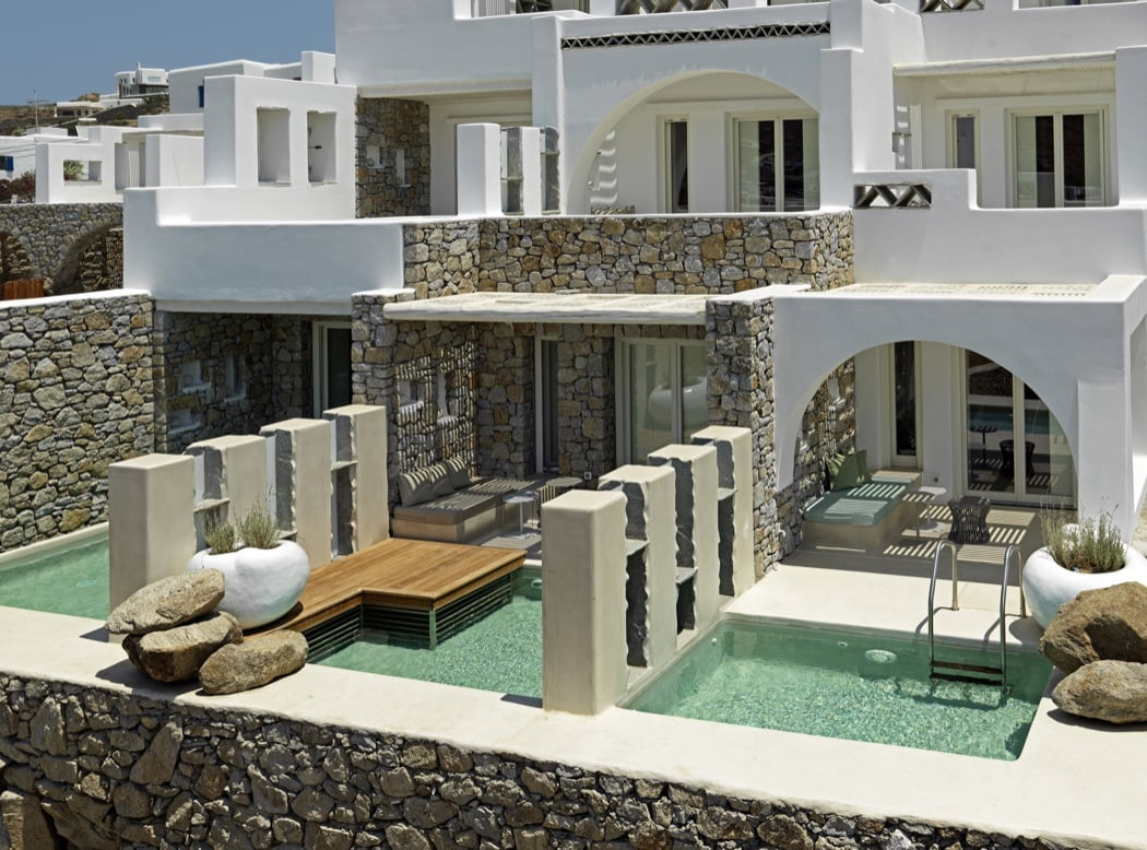 Review kensho boutique hotel suites mykonos hotels for Boutique accommodation