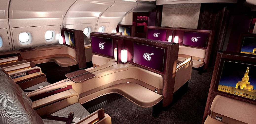 Review: Qatar Airways Incredible New QSuite - First Class in Business